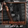 "Kit rehausse 2,5"" AEV pour Jeep Wrangler JL 4 portes"