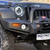 Phares led avec grand halo Jeep Wrangler JK