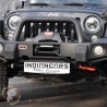 Treuil 4 tonnes corde plasma pour Jeep Wrangler