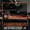 Amortisseur de direction pour Jeep Wrangler JK