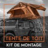 Kit de montage pour tente de toit souple