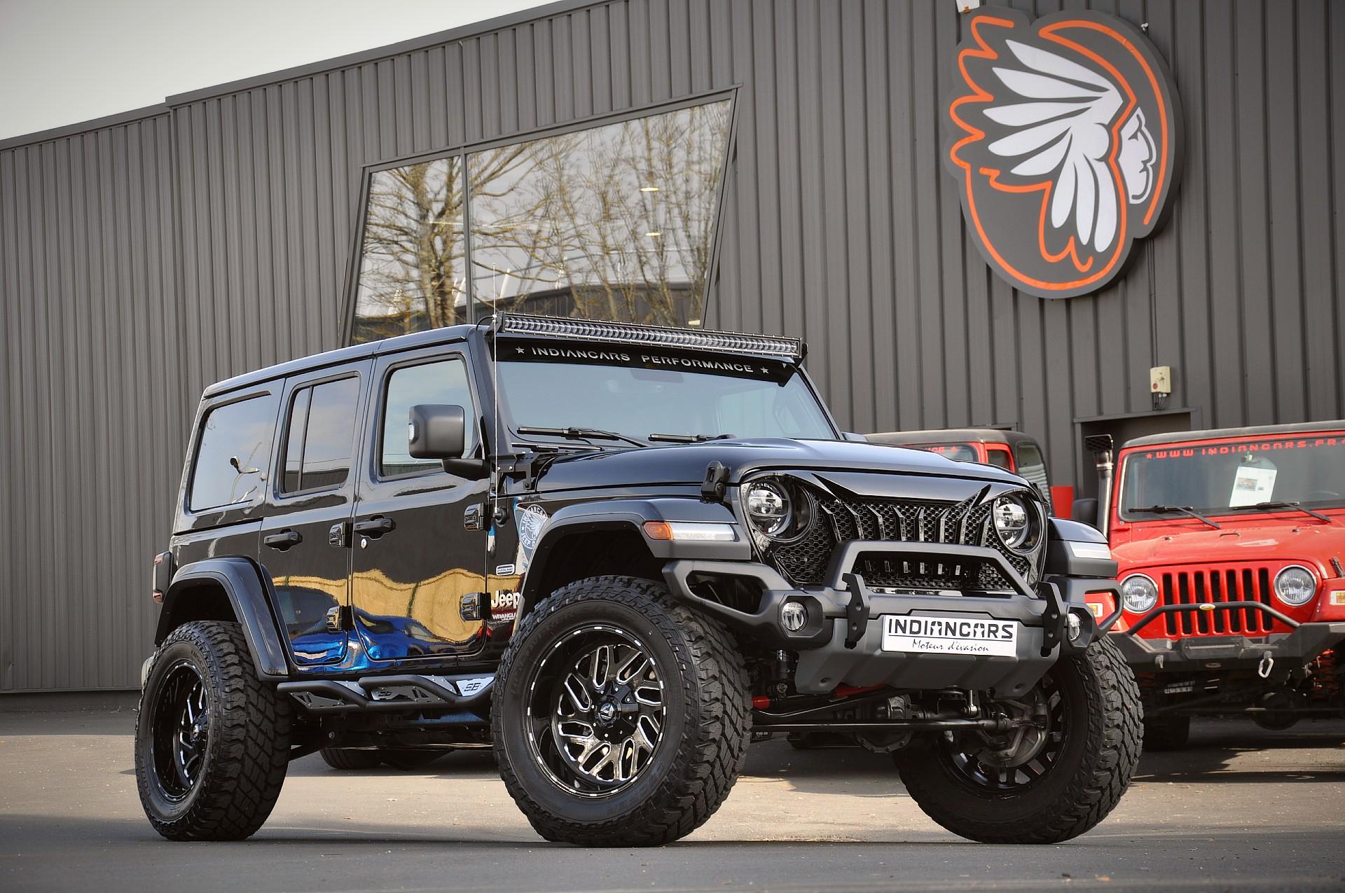 Jeep custom personnalisé sur mesure indiancars paris 4X4 sport luxe